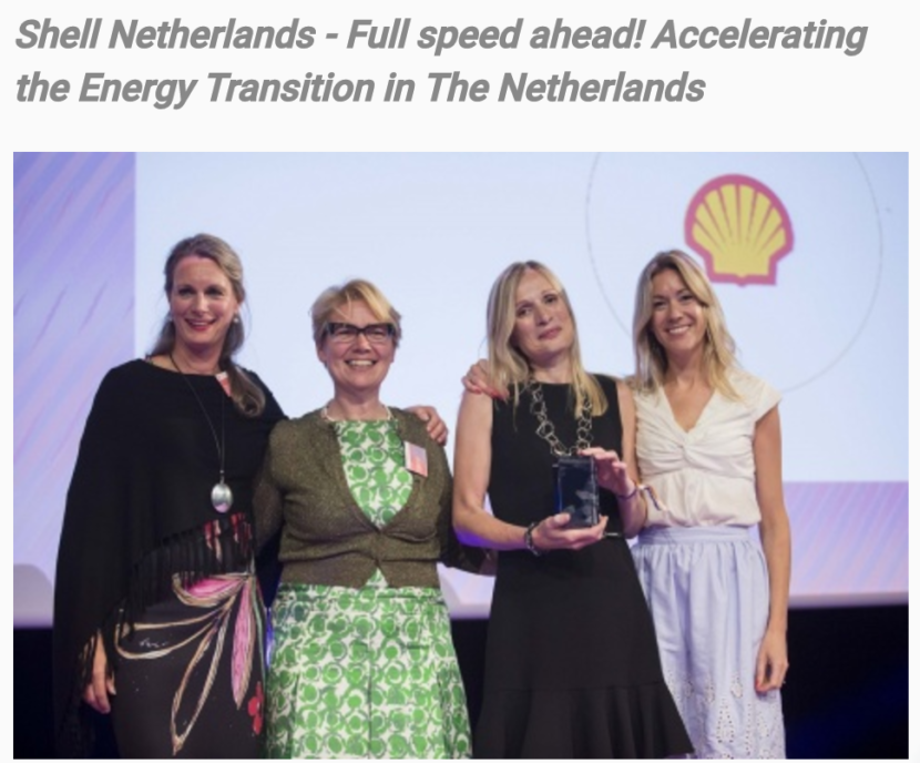 Shell Netherlands - Full speed ahead! Accelerating the Energy Transition in The Netherlands