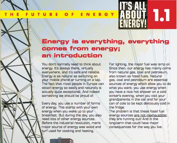 Fossiele brandstoffen raken op. Maar de reden om snél te stoppen met fossiele energie ontbreekt in de introductie van It's all about Energy voor Jet-net / InGenious