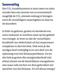 Slot conclusie uit het lespakket It's all about Energy van Shell voor Jet-Net. Bovenbouw middelbare school.