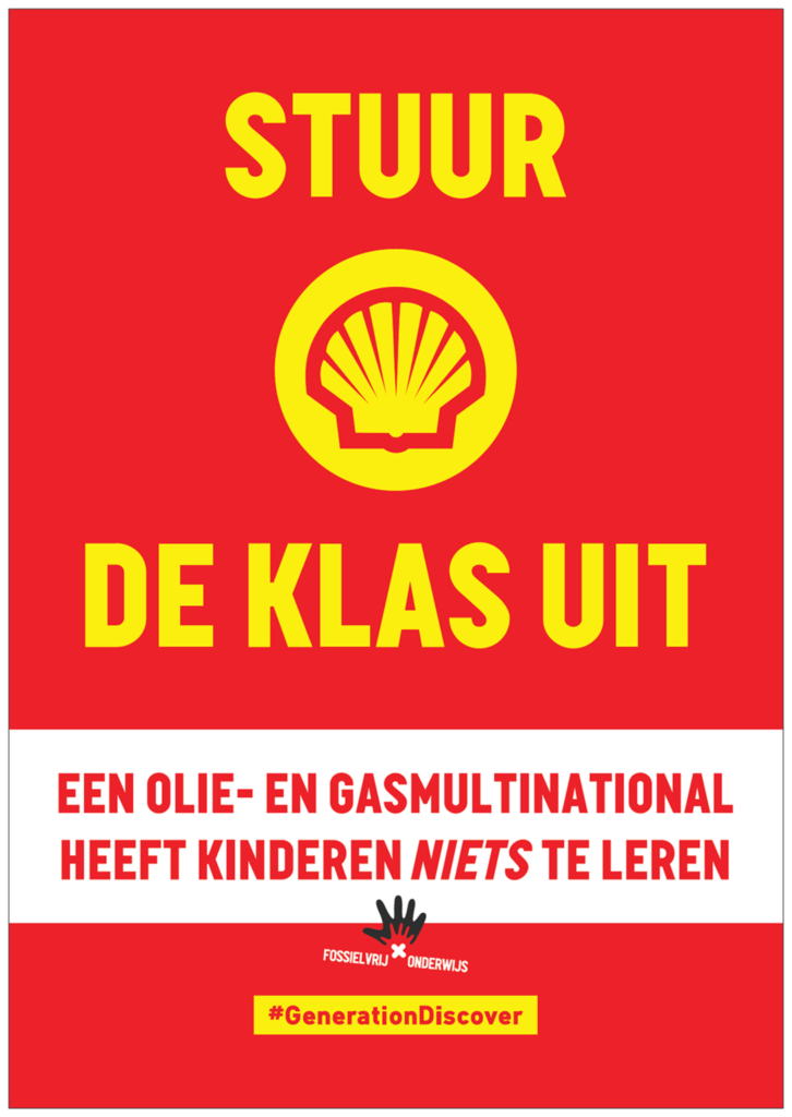 Flyer ouders Generation Discover Shell